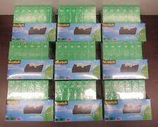 """Lot of 9 Scotch Magic 810 3/4"""" x 1,000in Tape w/ C38 Dispenser Value Packs [23D]"""