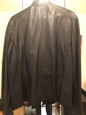 Ted Baker Leather Jacket Men