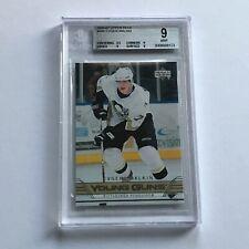 2006/07 Upper Deck Young Guns Evgeni Malkin BGS 9 Mint Pittsburgh Penguins