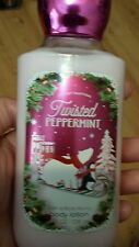 Bath & Body Works Lotion Twisted Peppermint 8 fl oz Ships Today Usa Free Ship