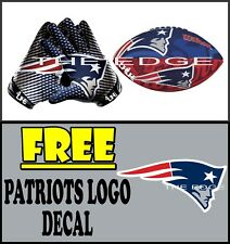 New England Patriots  4LIFE   Window Vinyl Glossy Decals Various Size Stickers