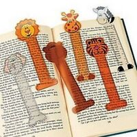 Zoo Animal Bookmarks - Book Reading School Party Bag Fillers Pack Sizes 6 - 48