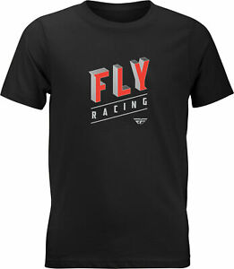 Fly Racing Youth Fly Dimensions Tee Black Ys 352-1103Ys