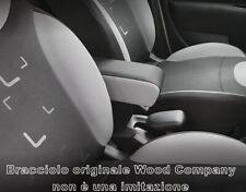 bracciolo XXL REGOLABILE FIAT 500L (2012-2017) -NERO e GRIGIO bracciolo Wood Co.