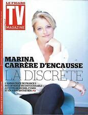 TV MAGAZINE N°22319 15/05/2016 CARRERE D'ENCAUSSE/ TOUZET/ SHERLOCK/ BOXE