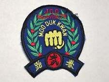 JCC Nashville TN Moo Duk Kwan Martial Arts Korea Tennessee Fist Sew Patch F