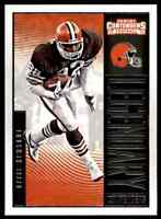 2016 PANINI LEGENDARY CONTENDERS OZZIE NEWSOME CLEVELAND BROWNS #7 INSERT