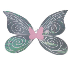 Funny Adult Kids Shiny Butterfly Fairy for Fancy Dress, Dance, Cosplay,
