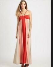 ELLA MOSS Multicolor Striped Twisted Halter Strap Maxi Dress Sz XS