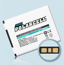 PolarCell Sony Ericsson BST-33 BST-40 1100mAh Hochleistungs-Akku Batterie Accu