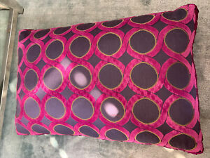 Large Purple Heavy Cushion With/ Without Feather Pads (2 Available)