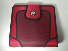 Case It 3 Ring Open Tab 2 Inch Binder Red Tab File S-816
