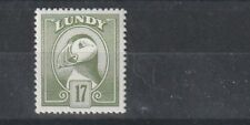 LUNDY ISLAND 1982 18 PUFFIN PURPLE BROWN DEFINITIVE MNH / UMM