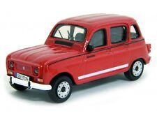Renault 4 1965 - Red   1/43  By burago Model Car refboxz10