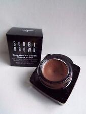 Bobbi Brown Long-Wear Gel Sparkle Shadow & Liner Sunlit Bronze 4 new boxed 4g