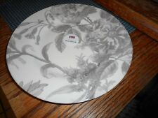 """Royal Stafford Gray Grey Floral Weave 8 1/2"""" Salad Plate (s) Made in England"""