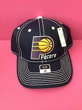 d7c06fc1e68 Indiana Pacers Adidas Primary Team Stretch Fit hat S M Blue