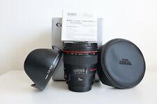 24 mm Canon EF F/1.4 II USM-Boxed-ottime condizioni