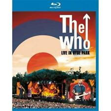 THE WHO LIVE AT HYDE PARK BLU-RAY ALL REGIONS NEW