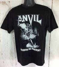 Alstyle Apparel Men's Black Anvil Pound The Pavement T Shirt Size Medium