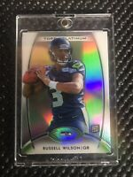 2012 Topps Platinum Russell Wilson RC Seattle Seahawks #138 Base Refractor