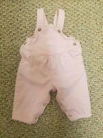 Vintage Oshkosh Baby B'gosh Vestbak by Oshkosh B'Gosh Pink Denim Bubble Overalls