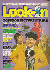 LOOK-IN JUNIOR TV TIMES # 48 NOV 1978 ELO BIONIC MAN WOMAN BENNY HILL