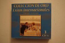 EXITOS INTERNACIONALES VARIOS ARTISTAS Coleccion de Oro 3 Cd Set
