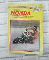 Clymer Honda CB750 DOHC Fours 4's 1979-1980 Service Repair Manual Book M337