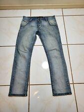 Takeshy Kurosawa Jeans Mens 34x30? Hand Made in Italy Distressed Blue F23