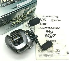 Shimano ALDEBARAN Mg7 Left Bait Casting Reel w/Box <Excellent+++>From JAPAN【DHL】