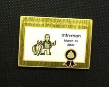 2012 MTN-MAN 10 year volunteer Geocoin UNACTIVATED VHTF