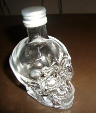 DAN AYKROYD Crystal Head Vodka Mini 50ML Skull Bottle (EMPTY)