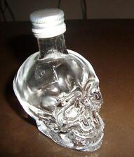 DAN AYKROYDS Crystal Head Vodka Mini 50ML Skull Bottle (EMPTY)