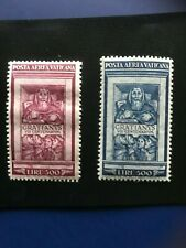 VATICAN: 1951 High Value Stamps Series: C20  and C21