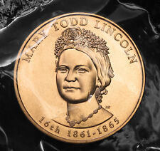 2010 Mary Todd Lincoln Bronze Spouse Medal in Original Plastic