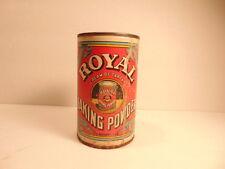 Vintage Royal Cream of Tartar Baking Powder tin can