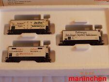 """Märklin 48922  Wagen-Set """"Fleischtransport"""" Epoche I mit Speichenrädern"""