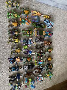 Huge Lot 30+ of Loose TMNT Ninja Turtles Figures