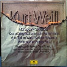 David Atherton - Kurt Weill 3 LP Mint- 2740 153 Vinyl 1976 Record German w/Book