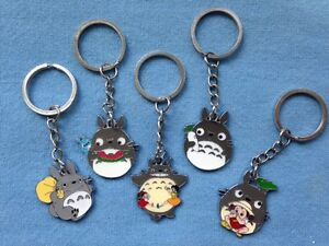 Totoro My Neighbour Totoro Japanese Anime Pendant Key Ring