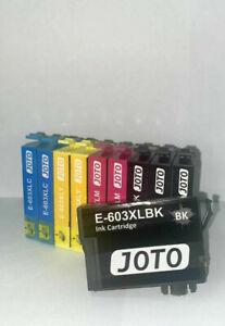 Tintenpatronen 603XL Epson Druckerpatronen 10er Set JOTO