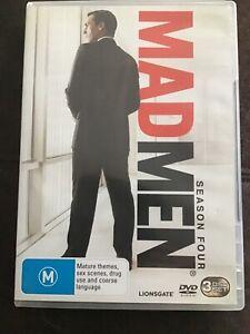 Mad Men : Season 4 (DVD, 2011, 3-Disc Set) - still like new