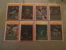 1972  O-Pee-Chee CFL Pro Action Set + Checklist