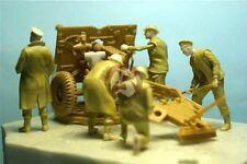 Resicast 1/35 British / Commonwealth 25 pounder Gun Crew NWE (6 Figures) 355617