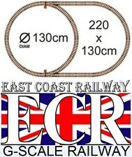 G SCALE RAILWAY RAIL 45mm G GAUGE PLASTIC TRACK FOR GARDEN TRAIN RAILS