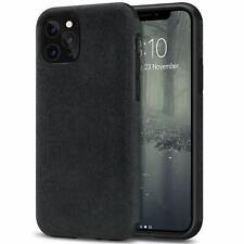 Handy Hülle Alcantara iPhone 11 Pro Max X Xs Xr Case Schutzhülle Wildleder Cover