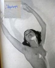 Grabner DIE AKTPHOTOGRAPHIE 1939(!), FKK, Feininger.u.a. SELTEN