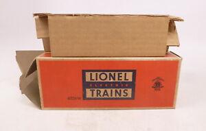 BX Lionel Postwar 6026W Tender w/ Whistle w/ Insert #2 - Empty Box