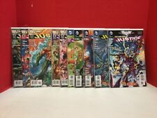 Justice League lot 2-11 New 52 DC JL Flash Aquaman Superman Wonder Woman